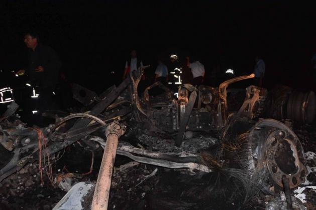 Hatay'da korkunç tren kazası 9