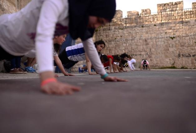 Kudüs'ün basketbolcu kızları 1