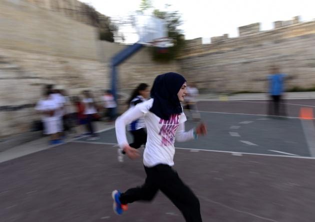 Kudüs'ün basketbolcu kızları 13