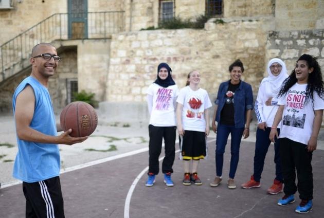 Kudüs'ün basketbolcu kızları 14