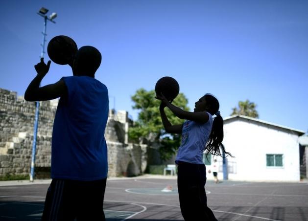 Kudüs'ün basketbolcu kızları 15