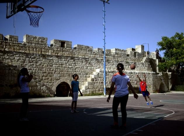 Kudüs'ün basketbolcu kızları 16