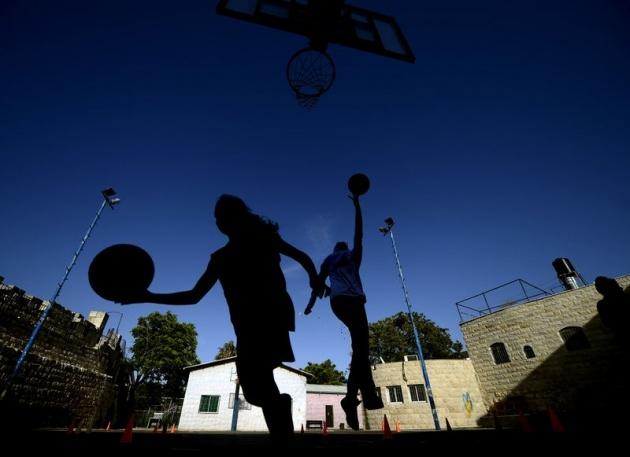 Kudüs'ün basketbolcu kızları 19