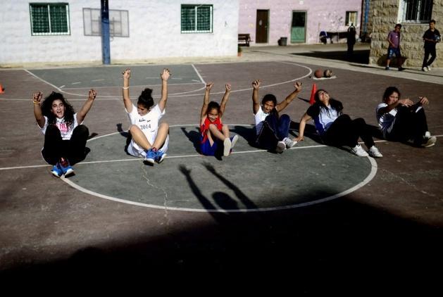 Kudüs'ün basketbolcu kızları 2
