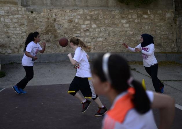 Kudüs'ün basketbolcu kızları 20
