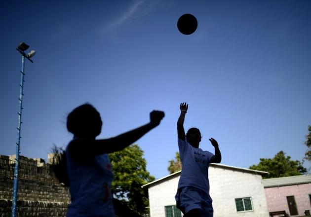 Kudüs'ün basketbolcu kızları 21