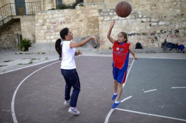 Kudüs'ün basketbolcu kızları 22