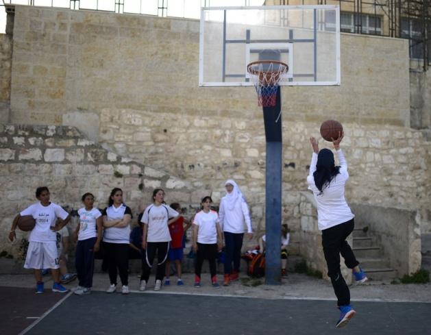 Kudüs'ün basketbolcu kızları 23