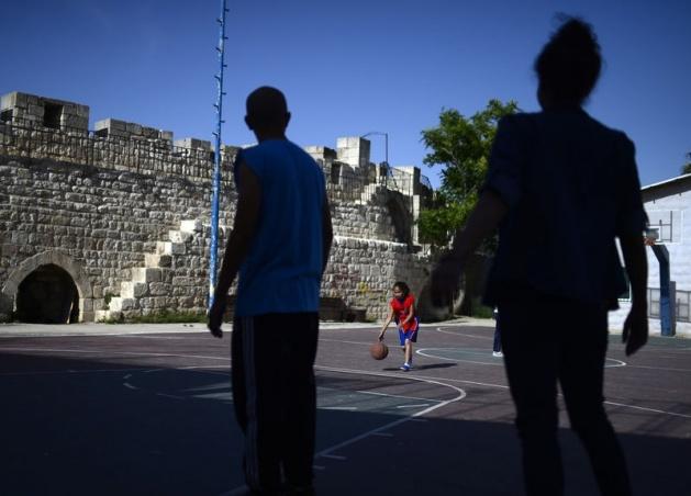 Kudüs'ün basketbolcu kızları 24