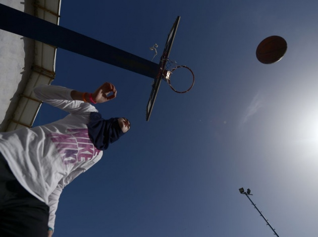 Kudüs'ün basketbolcu kızları 25