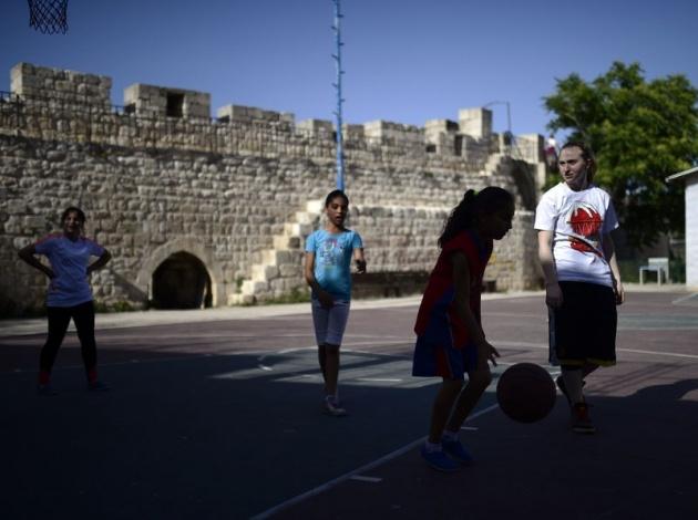 Kudüs'ün basketbolcu kızları 27