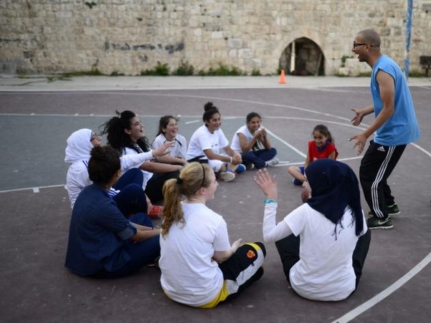 Kudüs'ün basketbolcu kızları 3