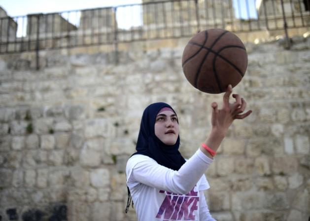 Kudüs'ün basketbolcu kızları 4