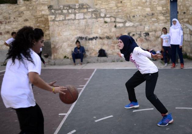 Kudüs'ün basketbolcu kızları 6
