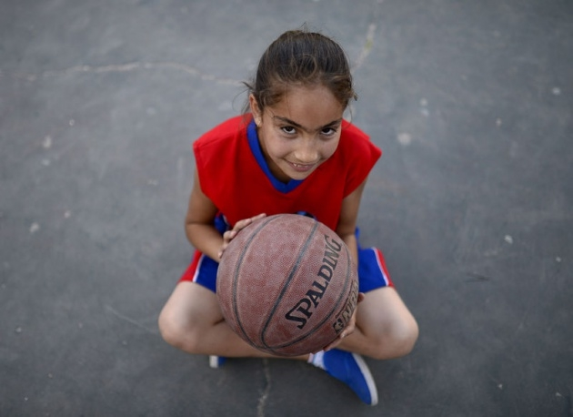 Kudüs'ün basketbolcu kızları 7