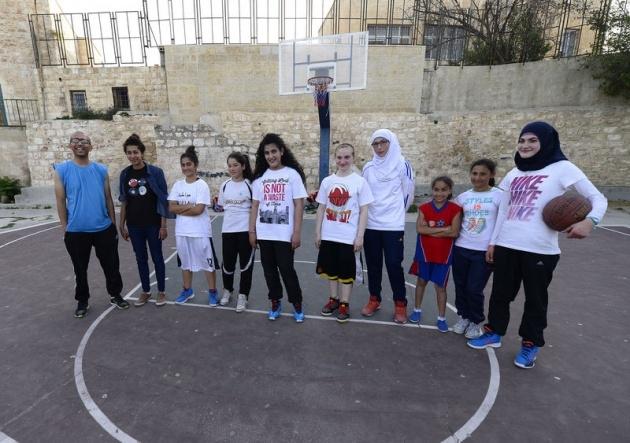 Kudüs'ün basketbolcu kızları 8