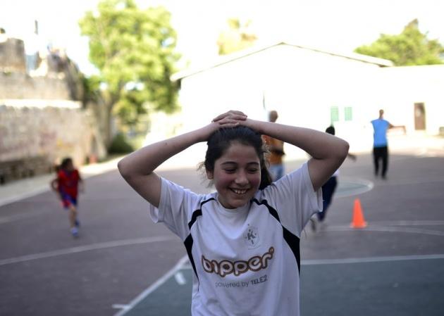 Kudüs'ün basketbolcu kızları 9