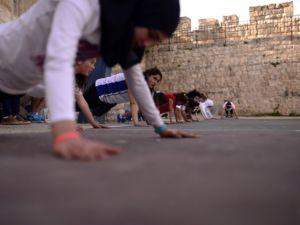 Kudüs'ün basketbolcu kızları
