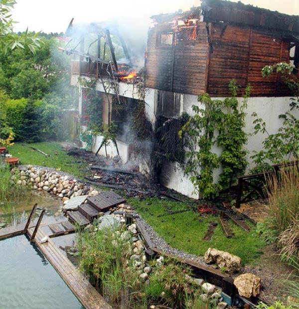 Ünlü yapımcı yangında hayatını kaybetti 5