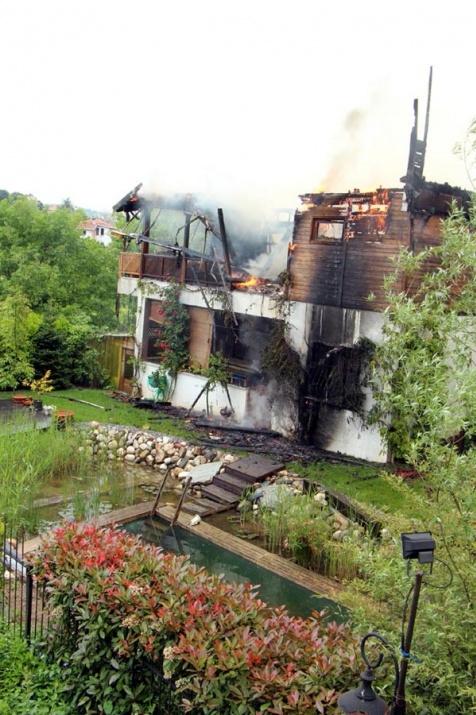 Ünlü yapımcı yangında hayatını kaybetti 6