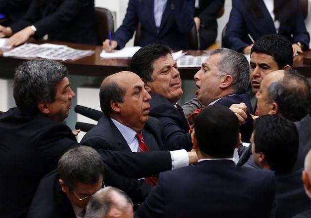 Meclis'te fotoğraf gerginliği 38