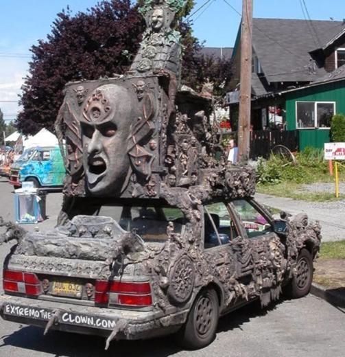 Yollarda Görebileceğiniz En Tuhaf Araçlar 14