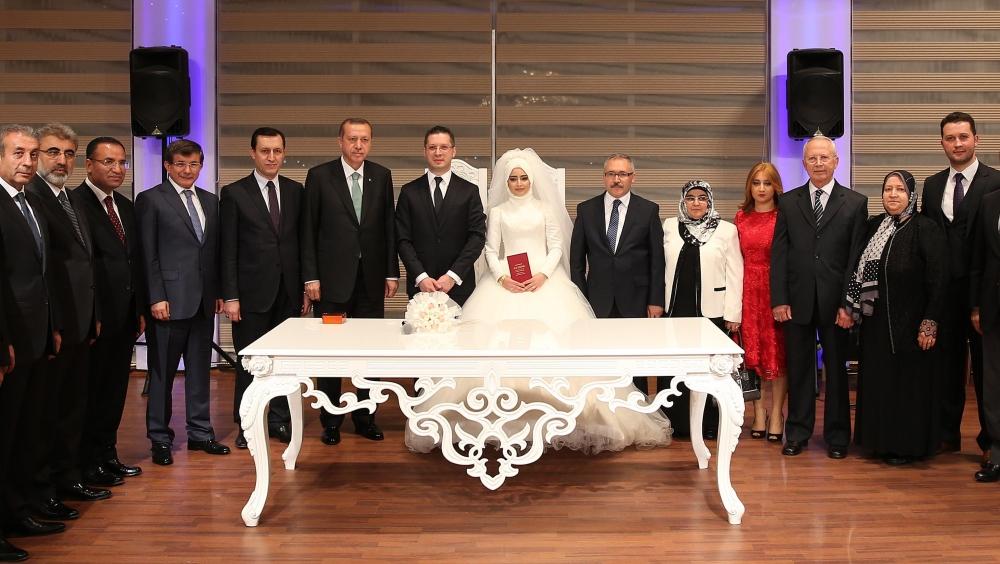 Erdoğan nikah şahidi oldu 2