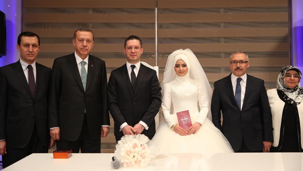 Erdoğan nikah şahidi oldu 4