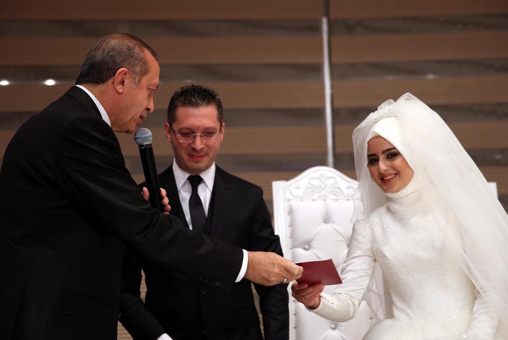 Erdoğan nikah şahidi oldu 5