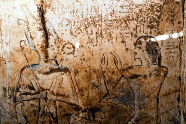 Mısır'da 3100 yıllık mezar bulundu 12