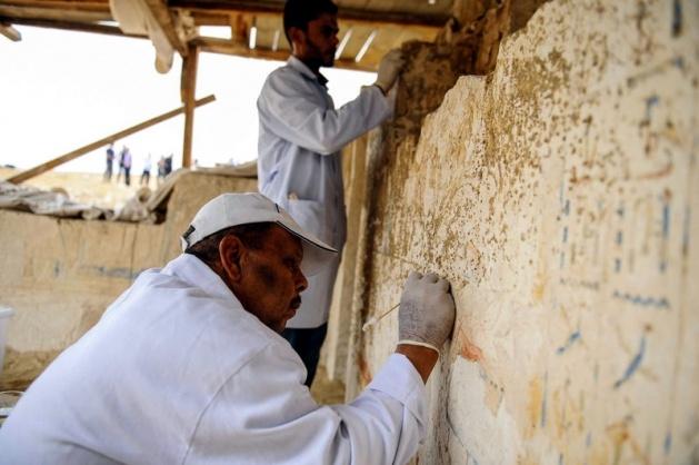 Mısır'da 3100 yıllık mezar bulundu 14