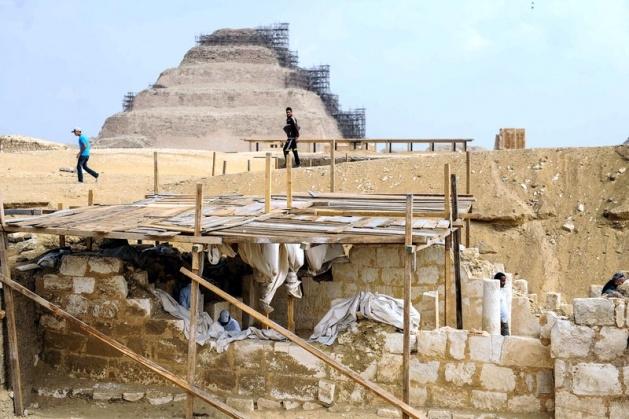 Mısır'da 3100 yıllık mezar bulundu 16