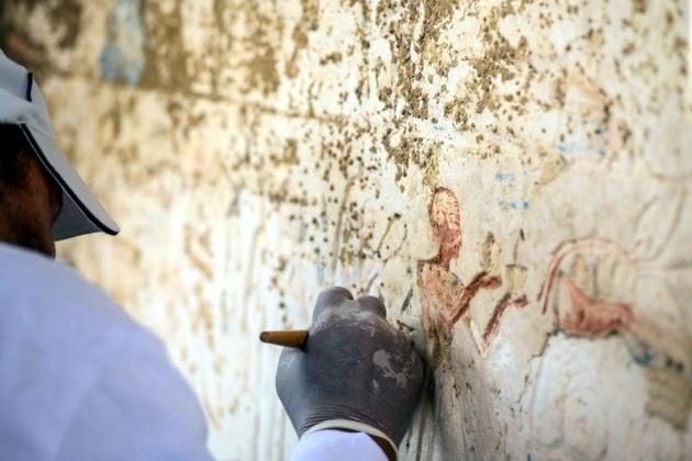 Mısır'da 3100 yıllık mezar bulundu 2