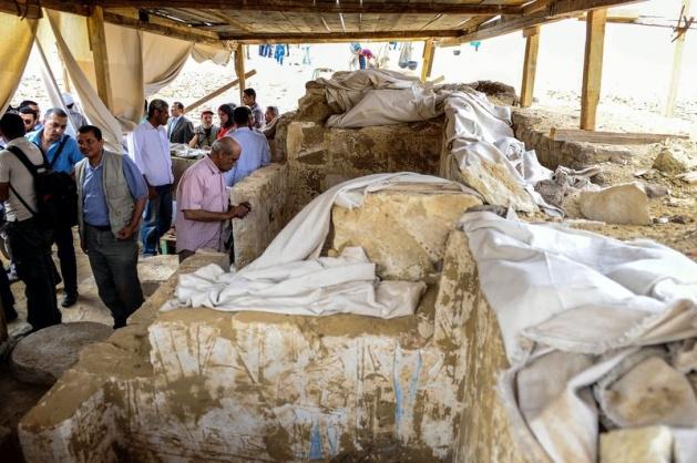 Mısır'da 3100 yıllık mezar bulundu 4