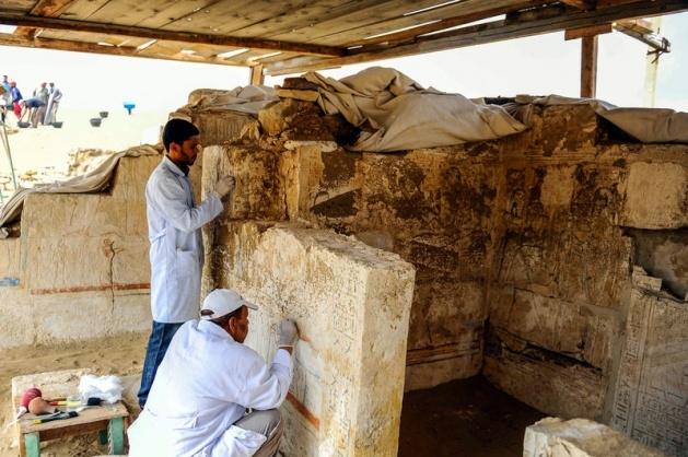 Mısır'da 3100 yıllık mezar bulundu 7