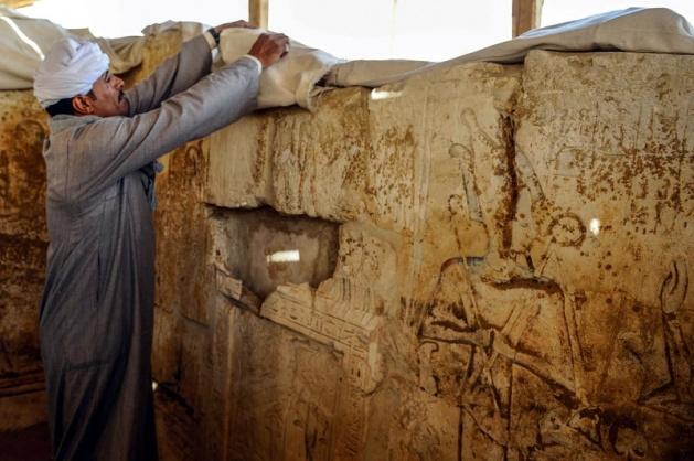 Mısır'da 3100 yıllık mezar bulundu 9