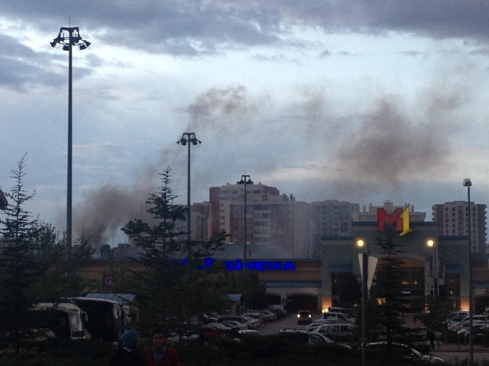 Real'deki yangın korkuttu 2