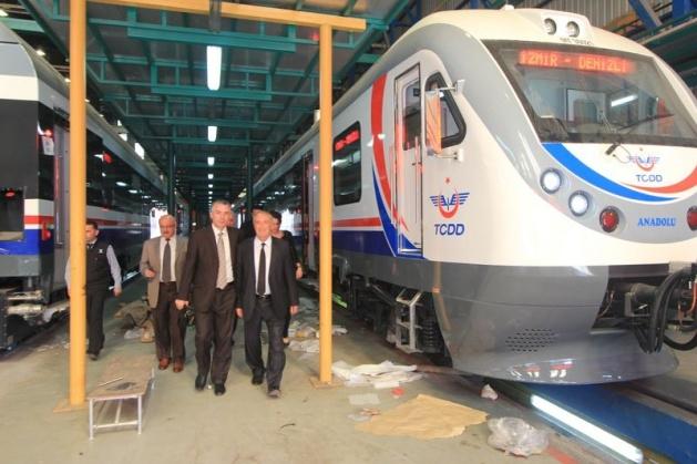 İşte Türkiye'nin dizel treni! 13