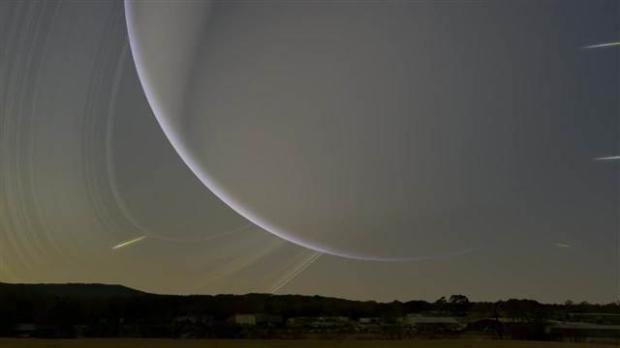 Satürn Dünya'nın yanından geçseydi 2