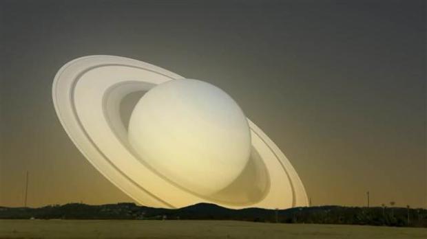 Satürn Dünya'nın yanından geçseydi 3