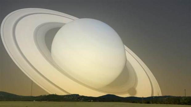 Satürn Dünya'nın yanından geçseydi 8