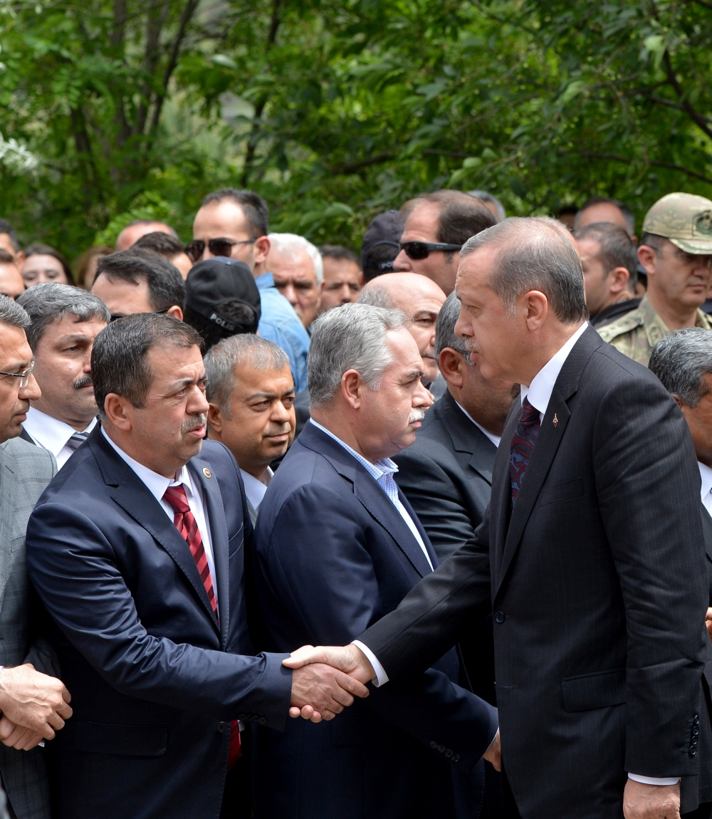 Başbakan Erdoğan kömür madeninde 4
