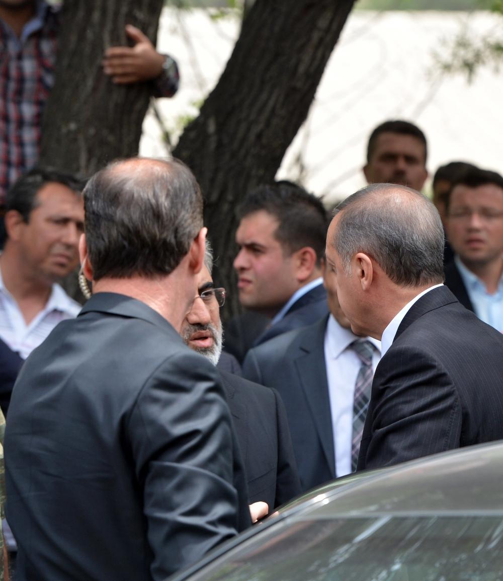 Başbakan Erdoğan kömür madeninde 5