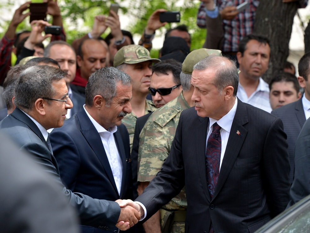 Başbakan Erdoğan kömür madeninde 6