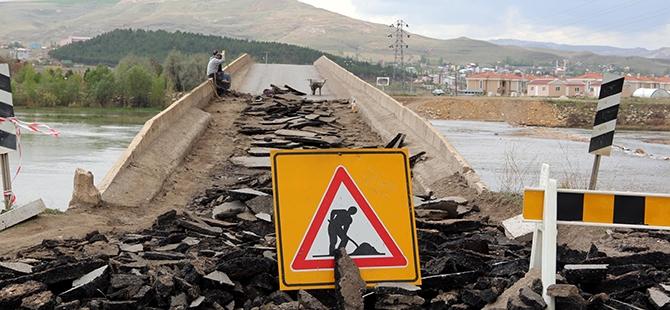 Tarihi Kesik Köprü restore ediliyor 6