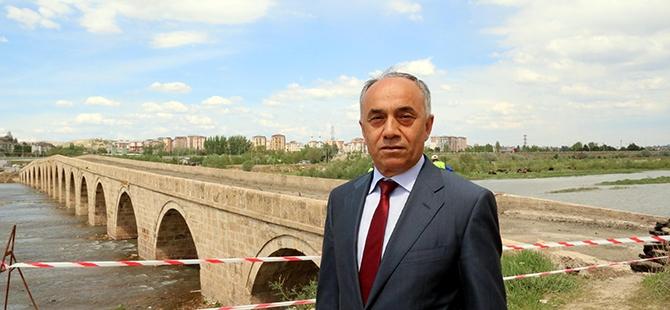 Tarihi Kesik Köprü restore ediliyor 8