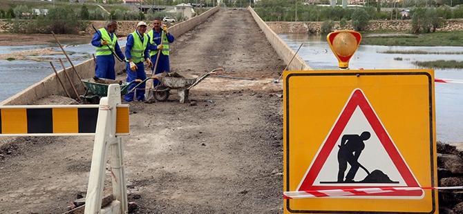 Tarihi Kesik Köprü restore ediliyor 9