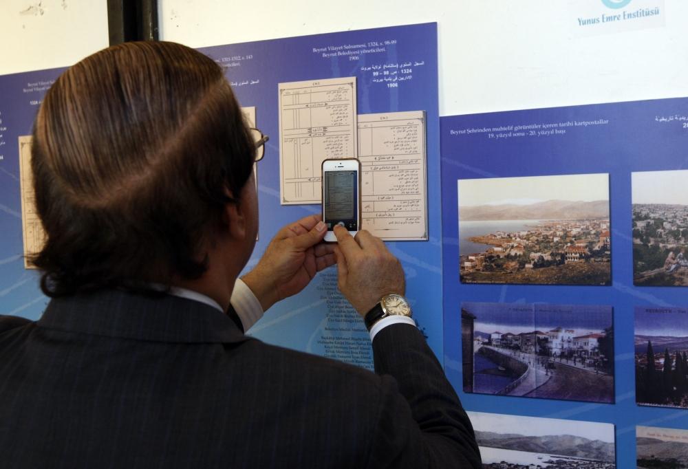 Osmanlı belgeleri Beyrut'ta sergileniyor 4