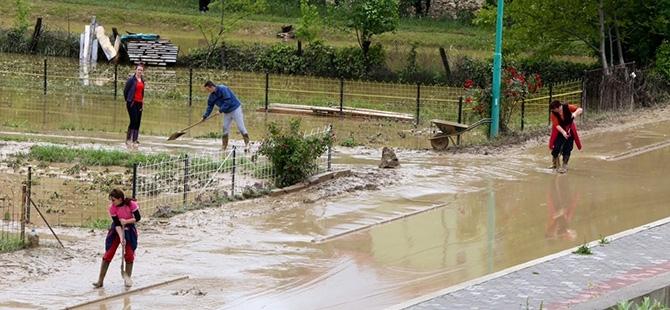 Bosna-Hersek'te sel felaketi 15