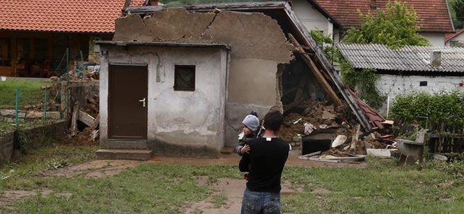 Bosna-Hersek'te sel felaketi 16